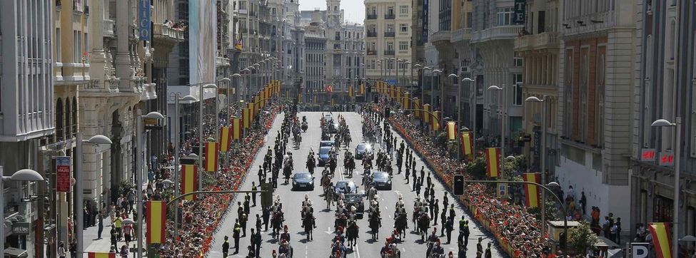 El desfile real